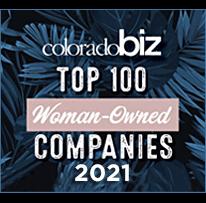 Colorado Biz 100 Woman-Owned Companies, 2021